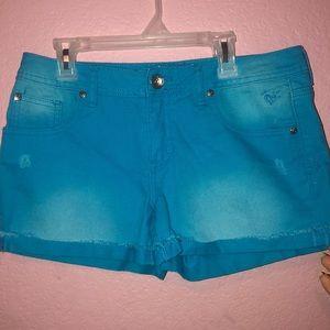 Kids Justice Blue Denim Shorts